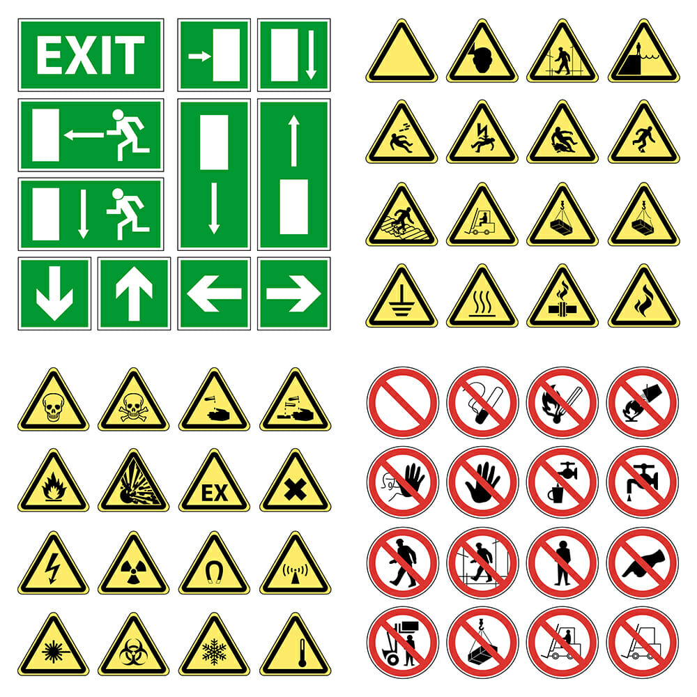 Safety Signages & Stickers