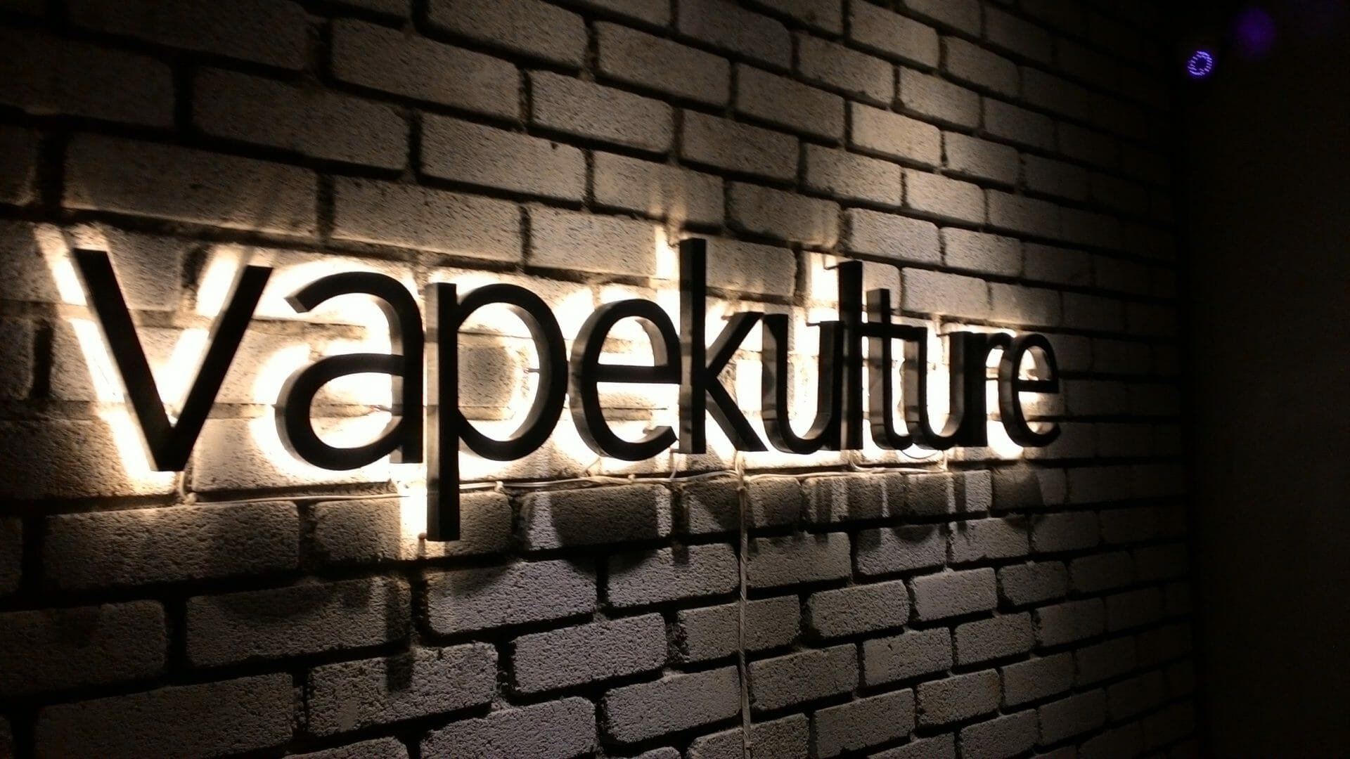 3d back lit led indoor signboard design